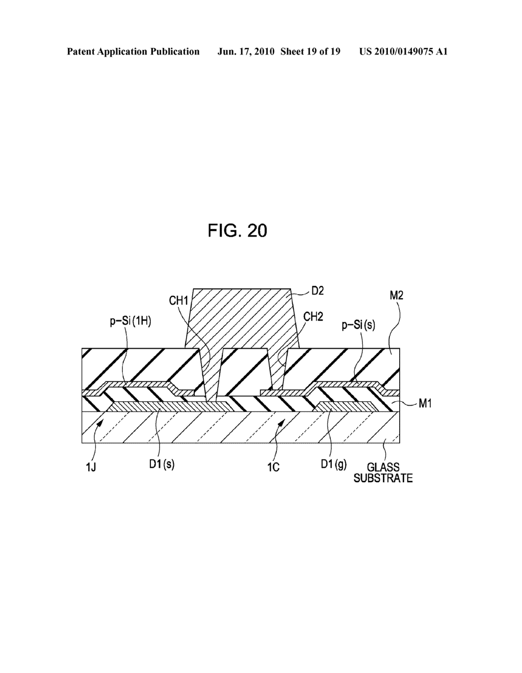 DISPLAY DEVICE, METHOD FOR DRIVING THE SAME, AND ELECTRONIC APPARATUS - diagram, schematic, and image 20