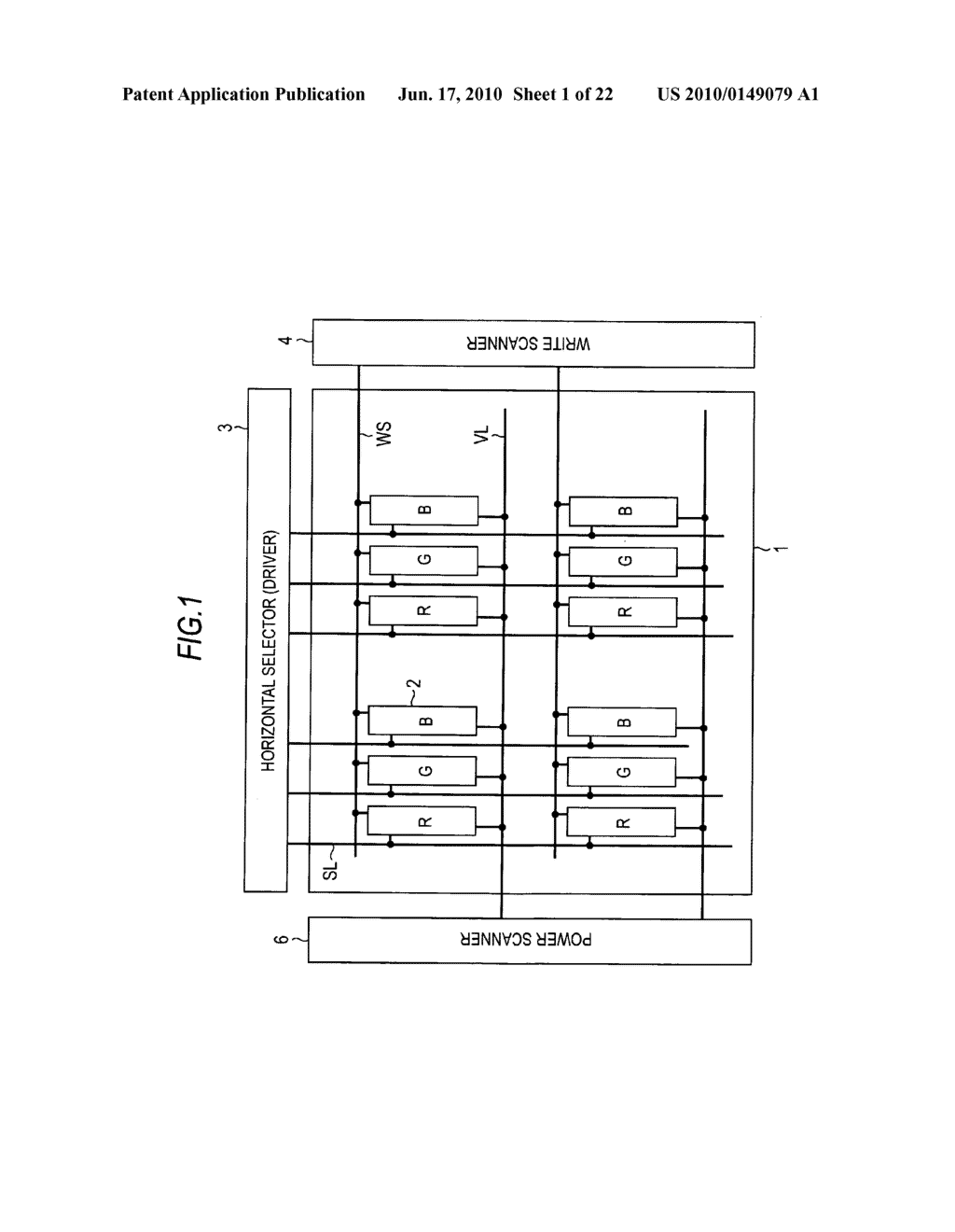 Display device, method of driving display device, and electronic apparatus - diagram, schematic, and image 02
