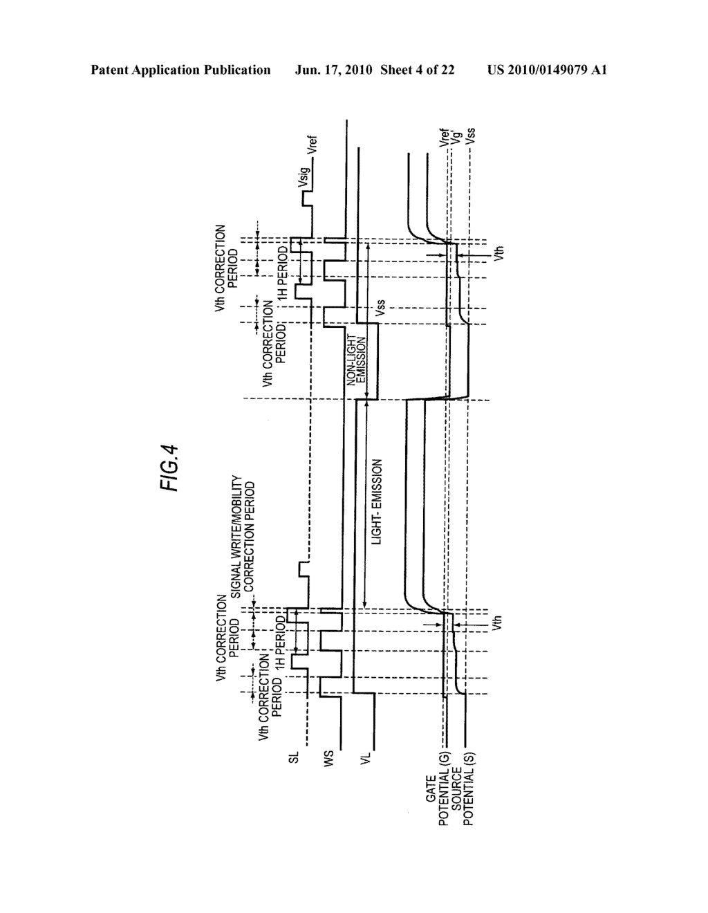 Display device, method of driving display device, and electronic apparatus - diagram, schematic, and image 05