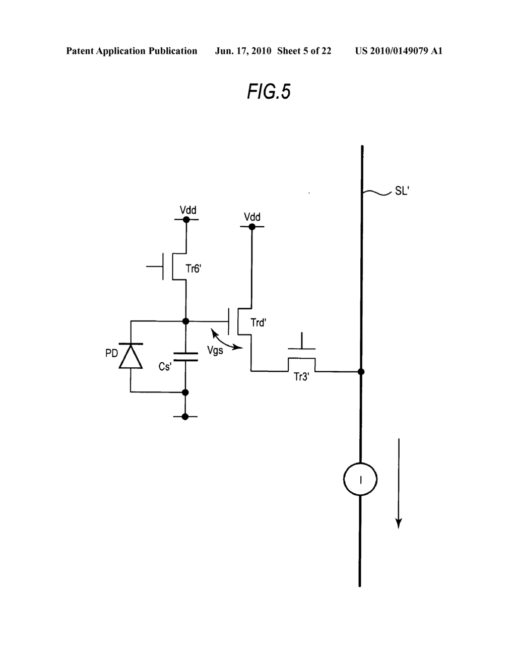Display device, method of driving display device, and electronic apparatus - diagram, schematic, and image 06