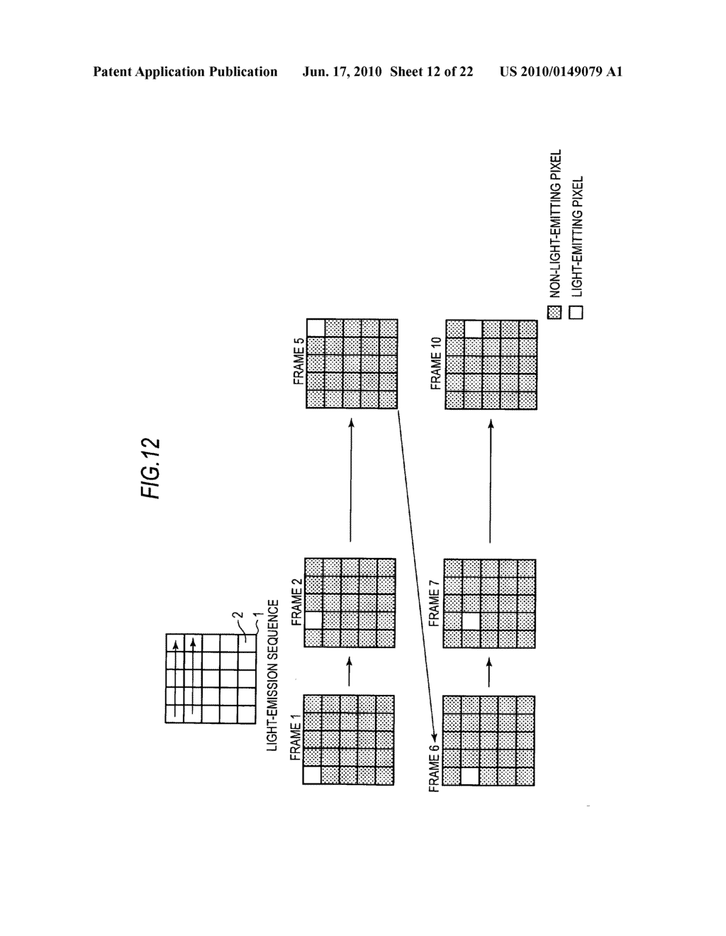 Display device, method of driving display device, and electronic apparatus - diagram, schematic, and image 13