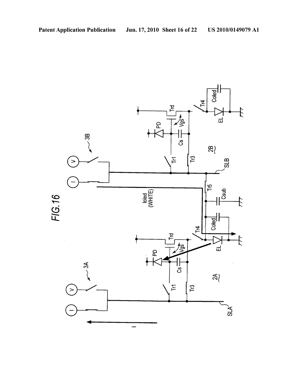 Display device, method of driving display device, and electronic apparatus - diagram, schematic, and image 17