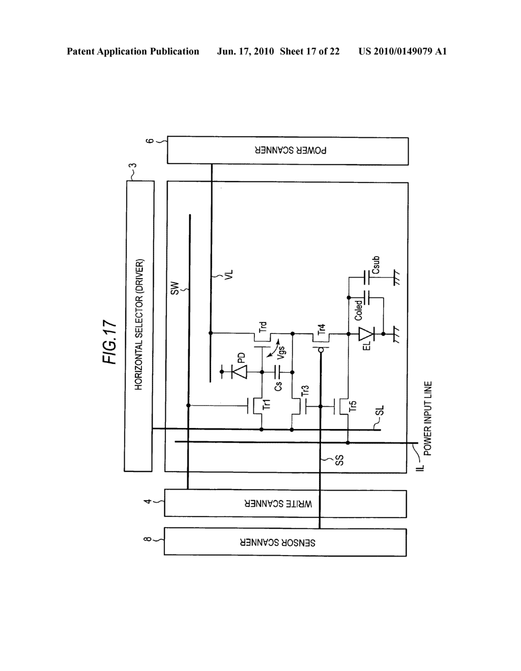 Display device, method of driving display device, and electronic apparatus - diagram, schematic, and image 18