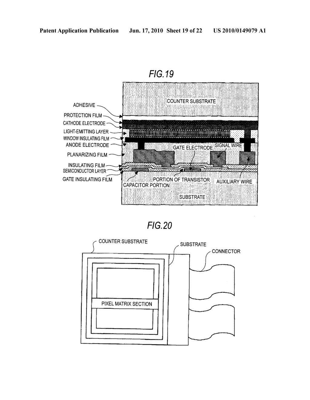 Display device, method of driving display device, and electronic apparatus - diagram, schematic, and image 20