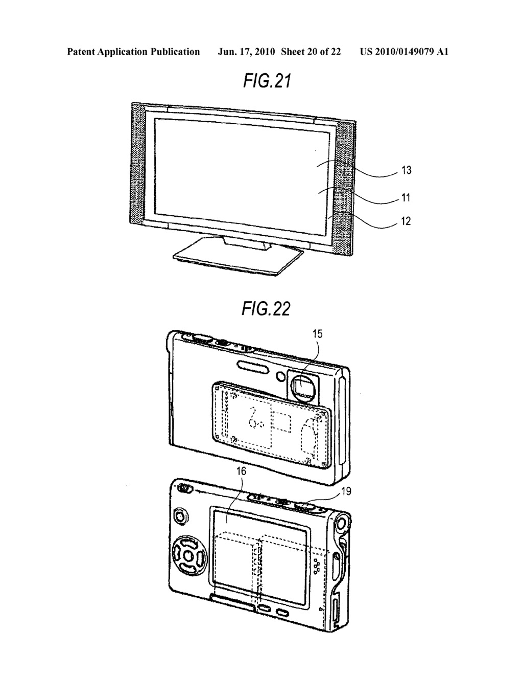 Display device, method of driving display device, and electronic apparatus - diagram, schematic, and image 21