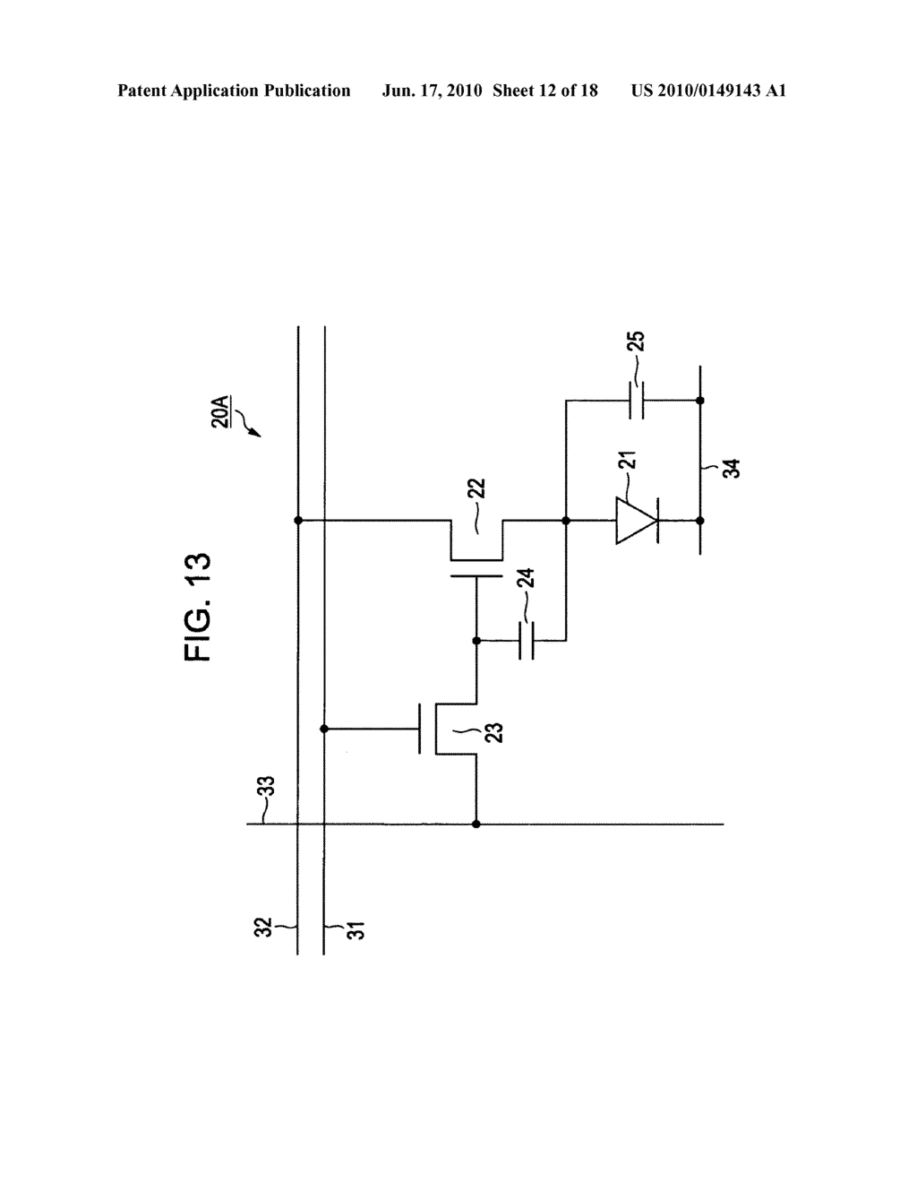 Display apparatus, pixel layout method for display apparatus, and electronic device - diagram, schematic, and image 13