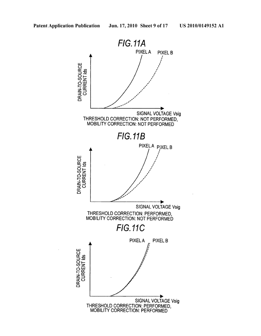 Display device, driving method for the display device, and electronic apparatus - diagram, schematic, and image 10