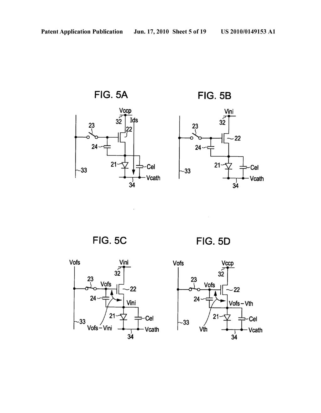Display device, display device drive method, and electronic apparatus - diagram, schematic, and image 06