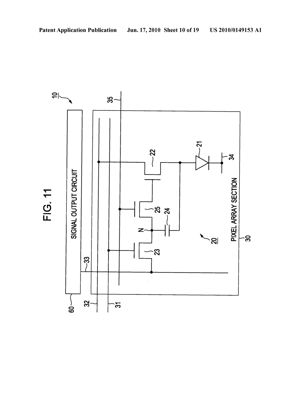 Display device, display device drive method, and electronic apparatus - diagram, schematic, and image 11