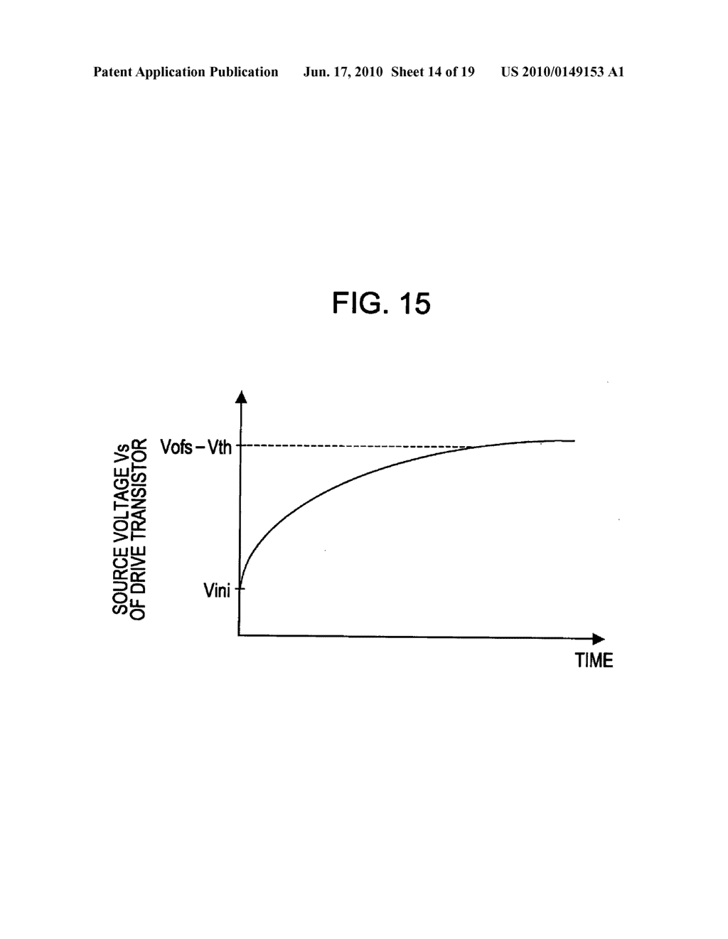 Display device, display device drive method, and electronic apparatus - diagram, schematic, and image 15