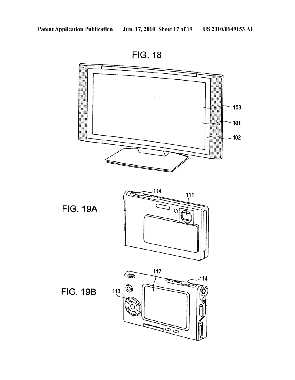 Display device, display device drive method, and electronic apparatus - diagram, schematic, and image 18