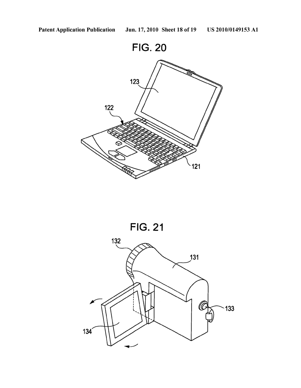 Display device, display device drive method, and electronic apparatus - diagram, schematic, and image 19