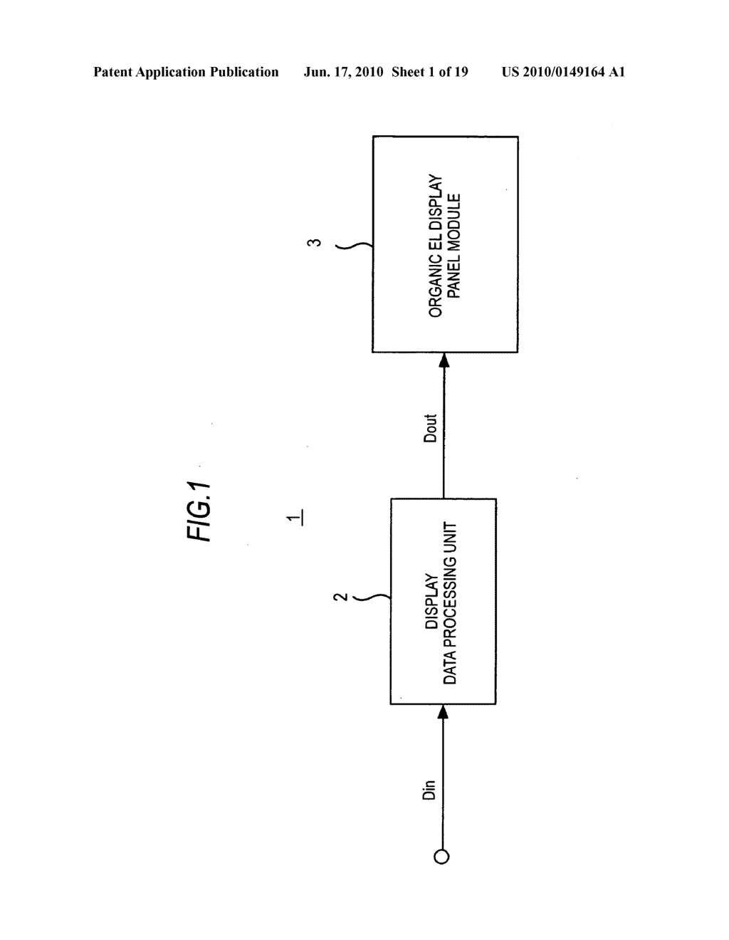 Display device, display data processing device, and display data processing method - diagram, schematic, and image 02