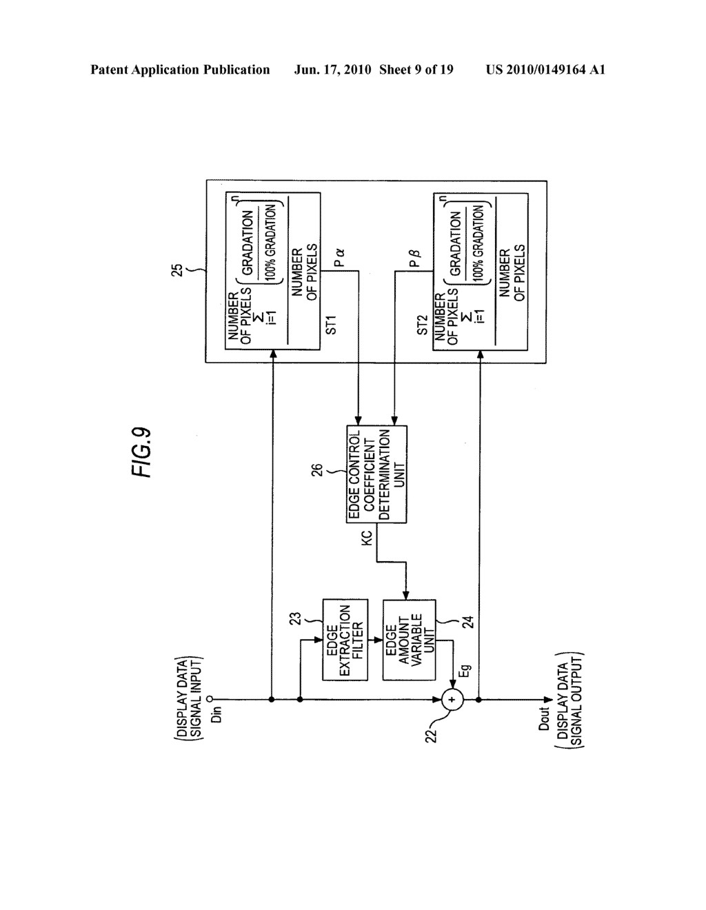 Display device, display data processing device, and display data processing method - diagram, schematic, and image 10