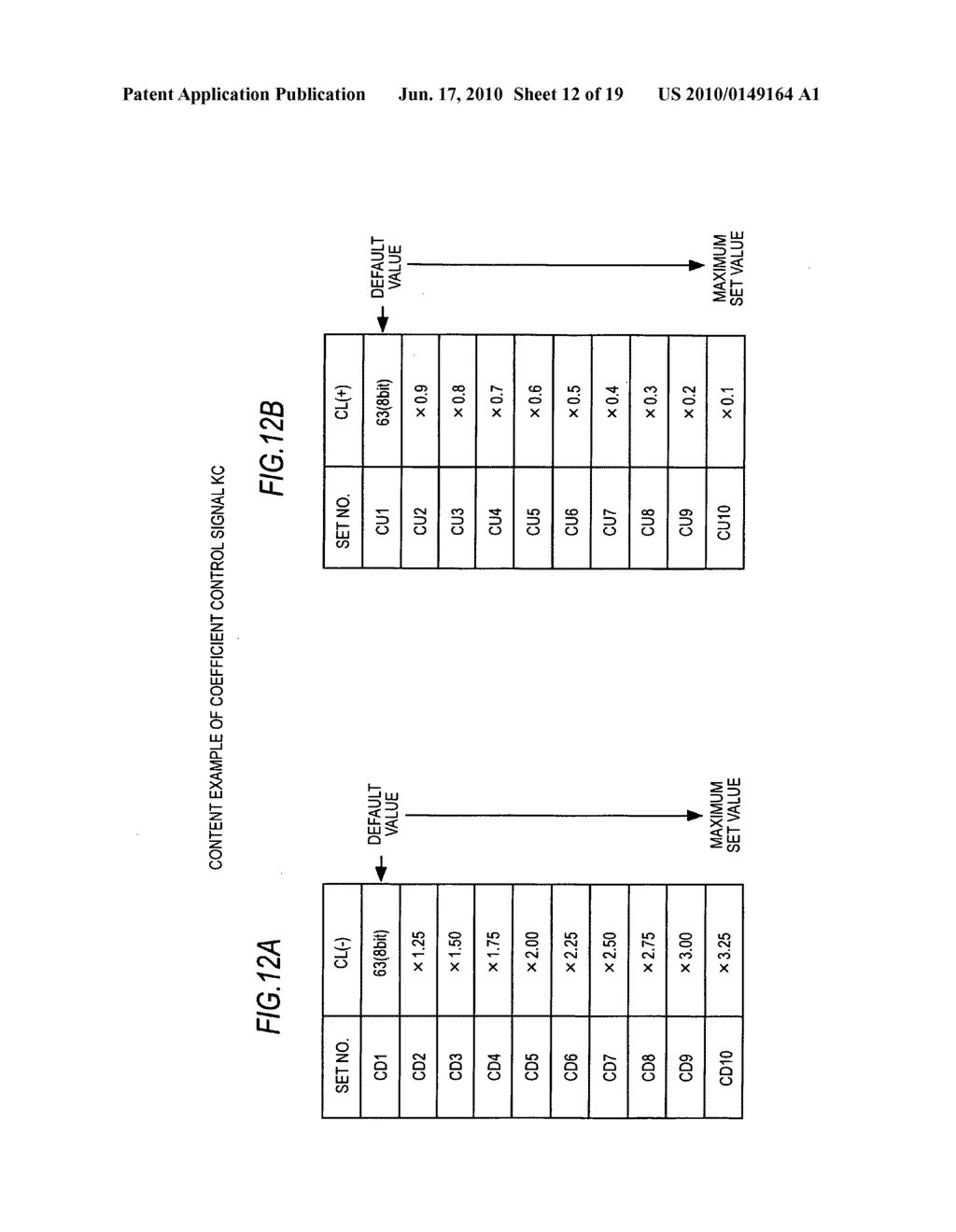 Display device, display data processing device, and display data processing method - diagram, schematic, and image 13