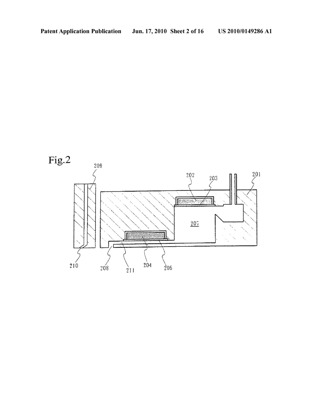 PRINTING DEVICE AND METHOD OF MANUFACTURING A LIGHT EMITTING DEVICE - diagram, schematic, and image 03