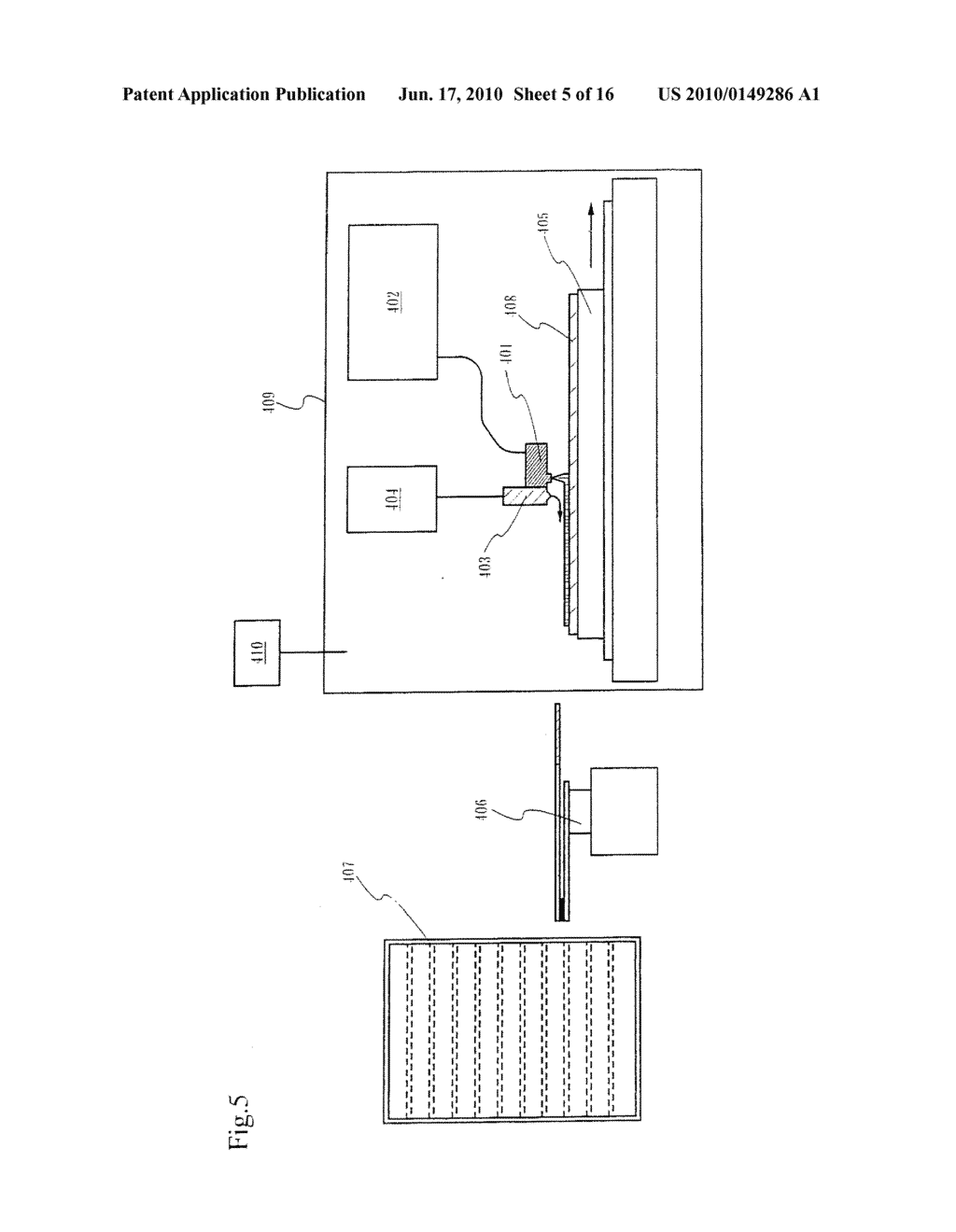 PRINTING DEVICE AND METHOD OF MANUFACTURING A LIGHT EMITTING DEVICE - diagram, schematic, and image 06