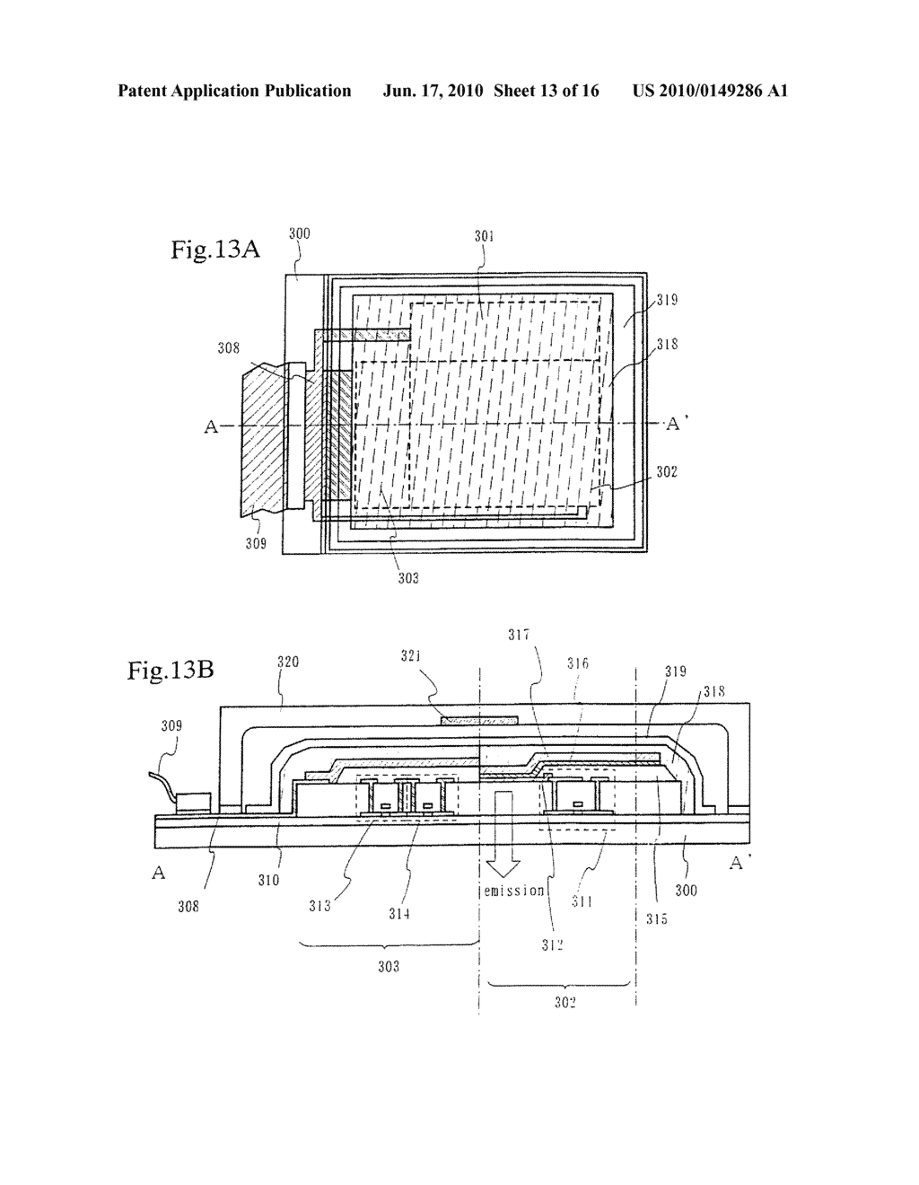 PRINTING DEVICE AND METHOD OF MANUFACTURING A LIGHT EMITTING DEVICE - diagram, schematic, and image 14