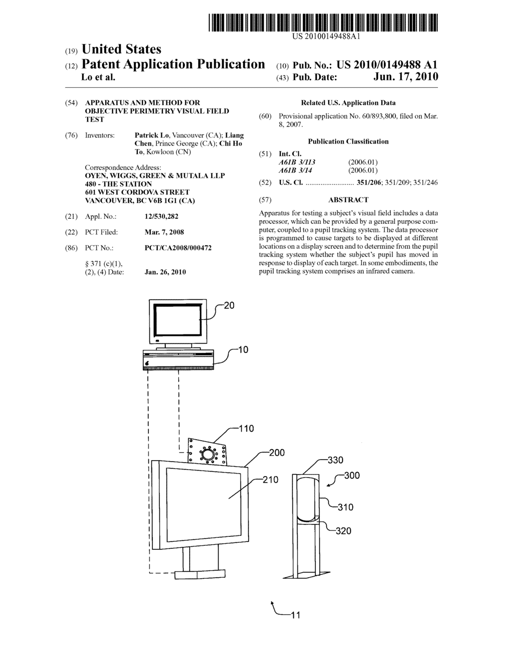 Apparatus And Method For Objective Perimetry Visual Field Test Rocket Engine Schematics Diagram Schematic Image 01