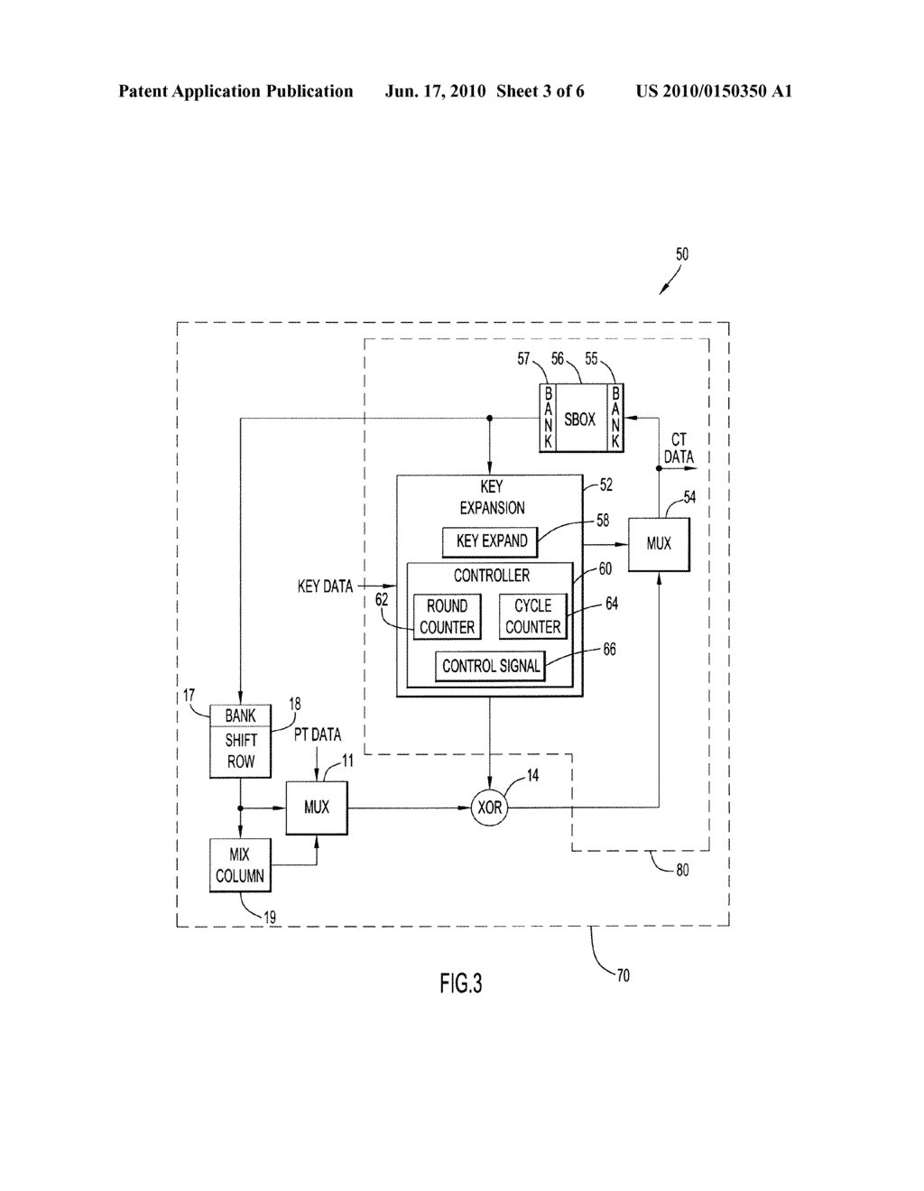 Method and Apparatus for Key Expansion to Encode Data - diagram, schematic, and image 04
