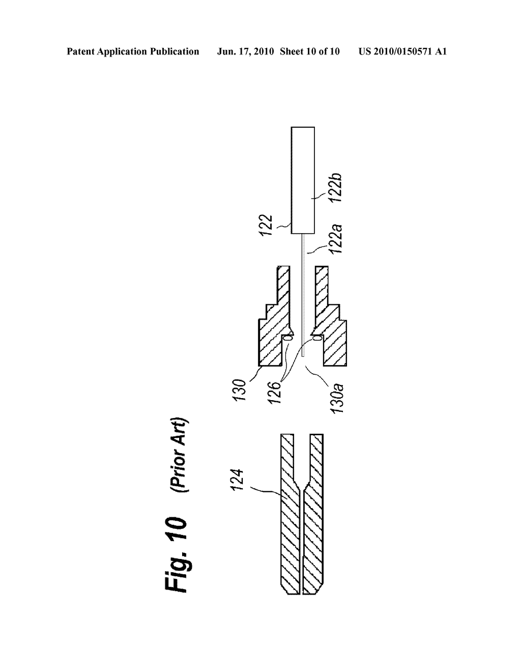 OPTICAL MODULE WITH EASILY PRODUCED FERRULE ASSEMBLY AND METHOD FOR PRODUCING THE SAME - diagram, schematic, and image 11
