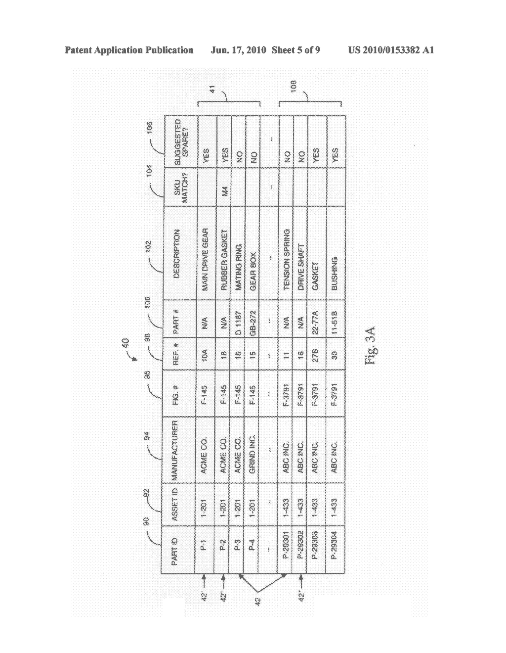 SYSTEMS AND METHODS FOR THE MATCHING OF MATERIALS DATA TO PARTS DATA - diagram, schematic, and image 06