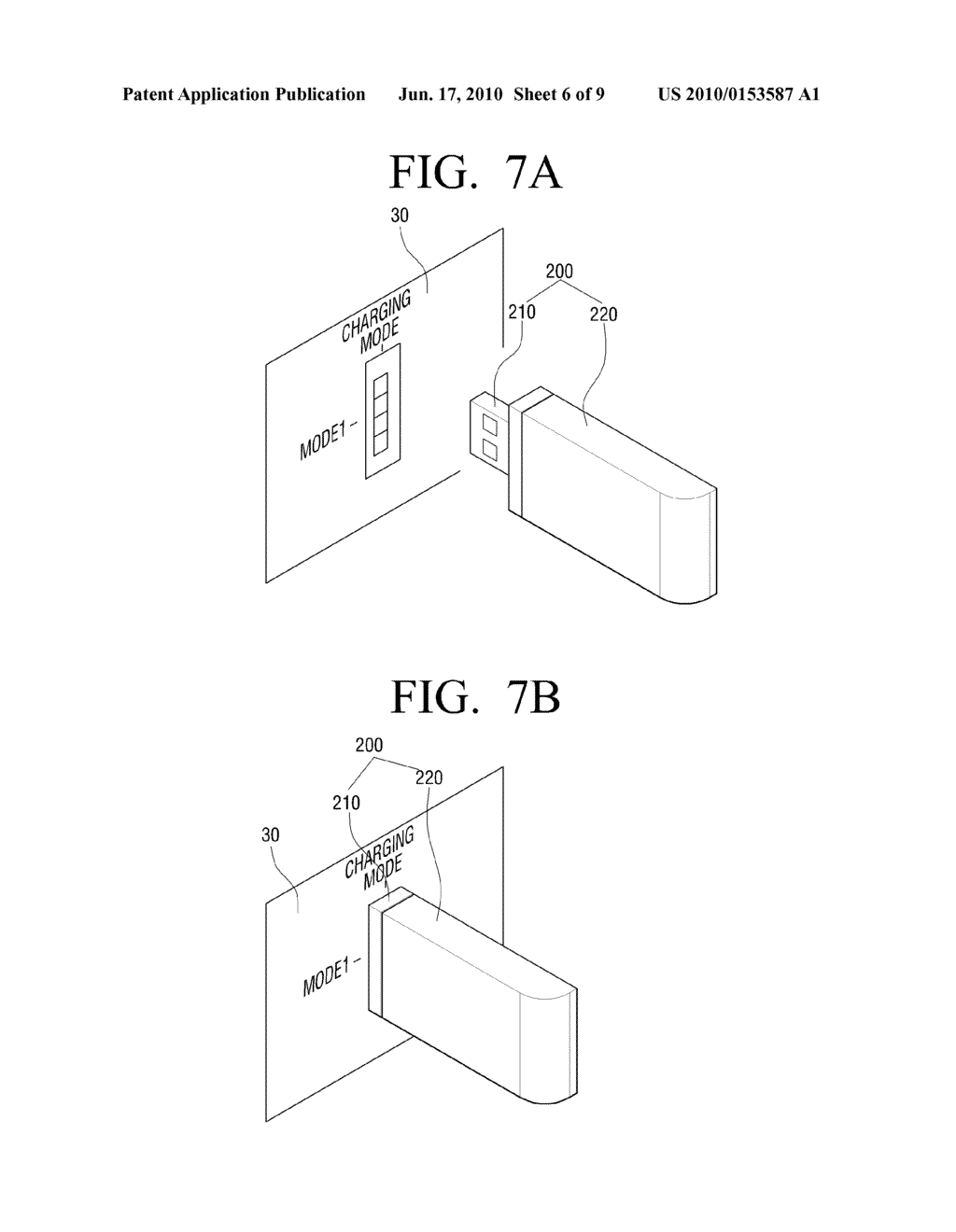 METHOD OF SETTING MODE OF EXTERNAL DEVICE OPERABLE IN PLURALITY OF MODES AND COMMUNICATION DEVICE TO USE THE SAME - diagram, schematic, and image 07
