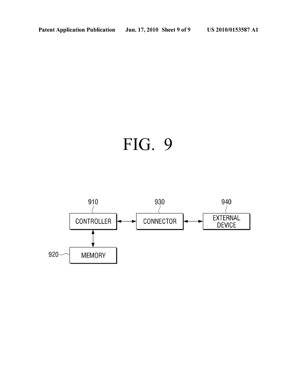 METHOD OF SETTING MODE OF EXTERNAL DEVICE OPERABLE IN PLURALITY OF MODES AND COMMUNICATION DEVICE TO USE THE SAME - diagram, schematic, and image 10