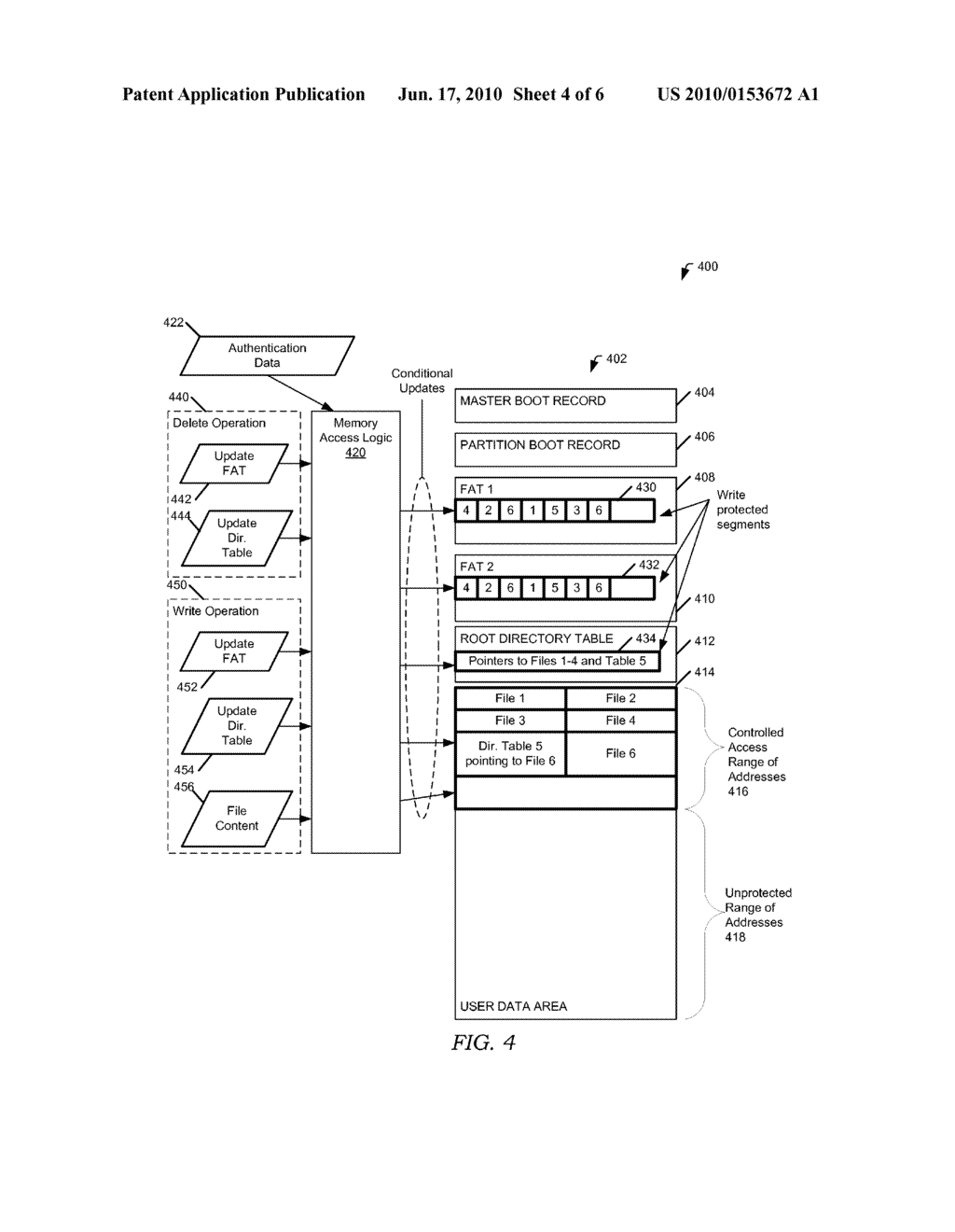 CONTROLLED DATA ACCESS TO NON-VOLATILE MEMORY - diagram, schematic, and image 05