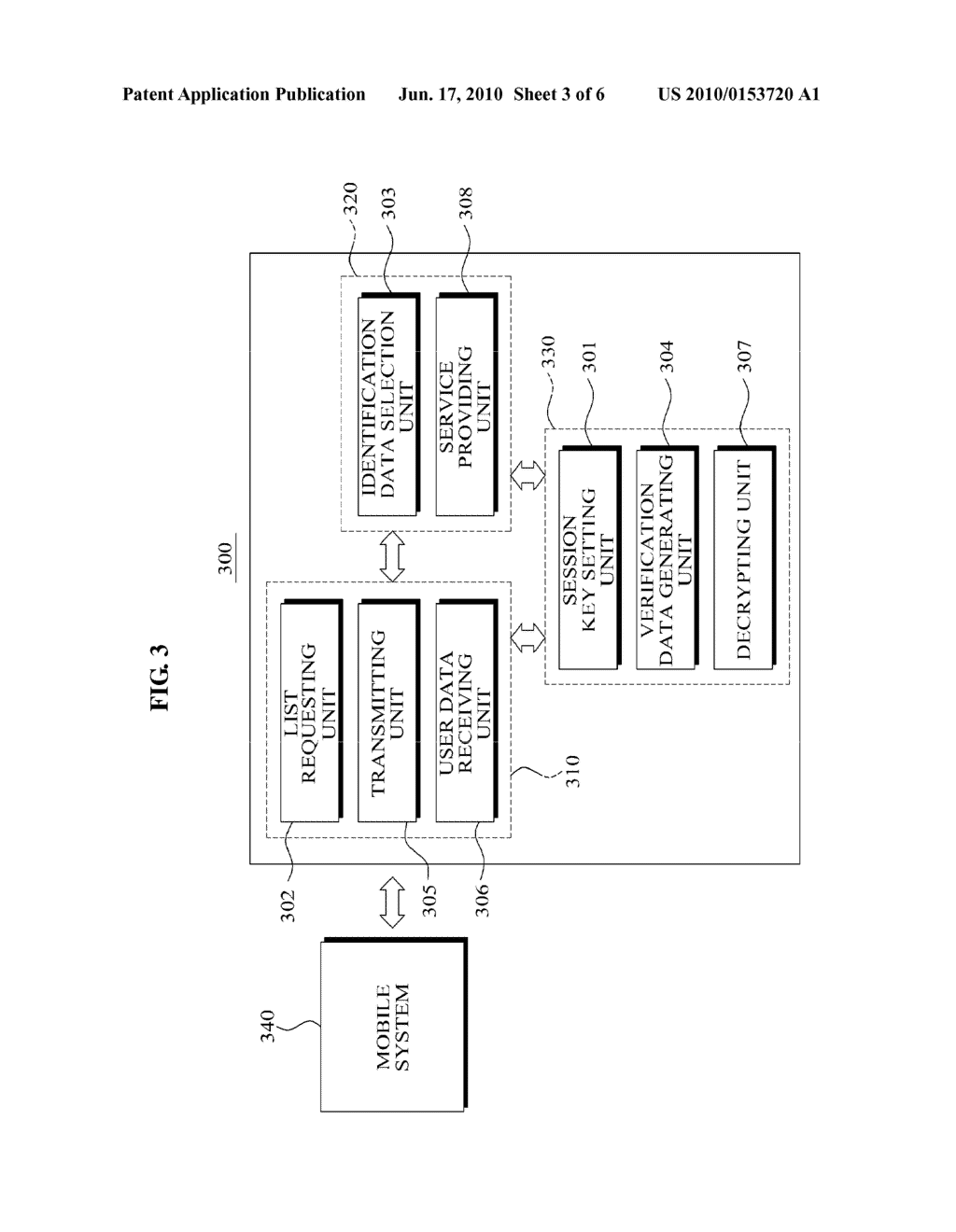 MOBILE SYSTEM, SERVICE SYSTEM, AND SERVICE PROVIDING METHOD TO SECURELY TRANSMIT PRIVATE INFORMATION FOR USE IN SERVICE - diagram, schematic, and image 04
