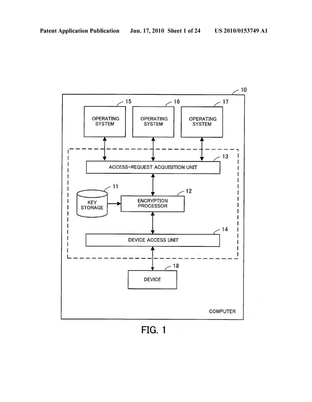 DEVICE-ACCESS CONTROL PROGRAM, DEVICE-ACCESS CONTROL PROCESS, AND INFORMATION PROCESSING APPARATUS FOR CONTROLLING ACCESS TO DEVICE - diagram, schematic, and image 02