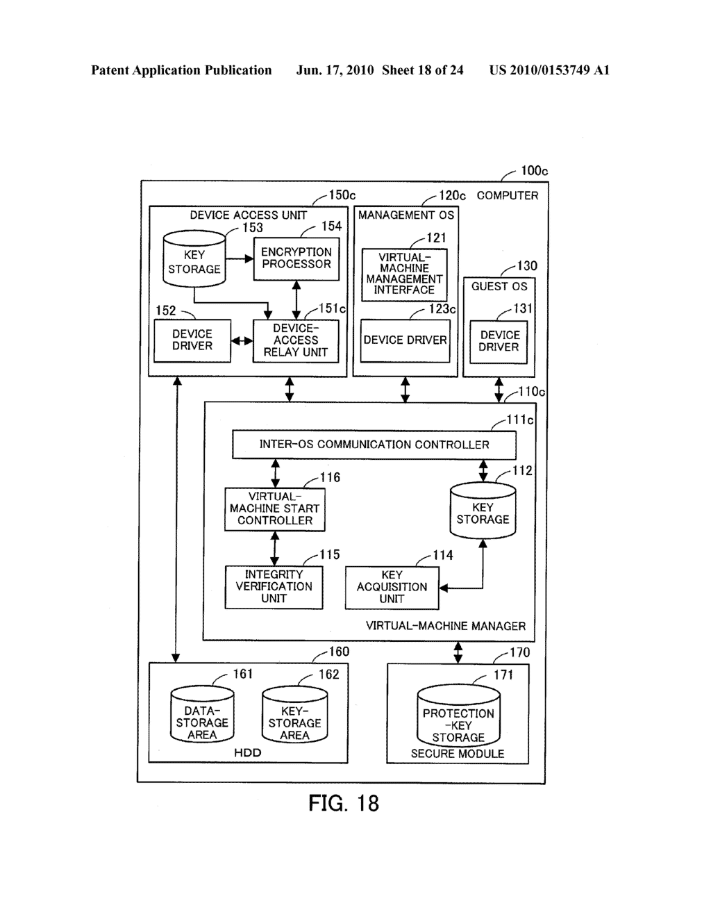 DEVICE-ACCESS CONTROL PROGRAM, DEVICE-ACCESS CONTROL PROCESS, AND INFORMATION PROCESSING APPARATUS FOR CONTROLLING ACCESS TO DEVICE - diagram, schematic, and image 19