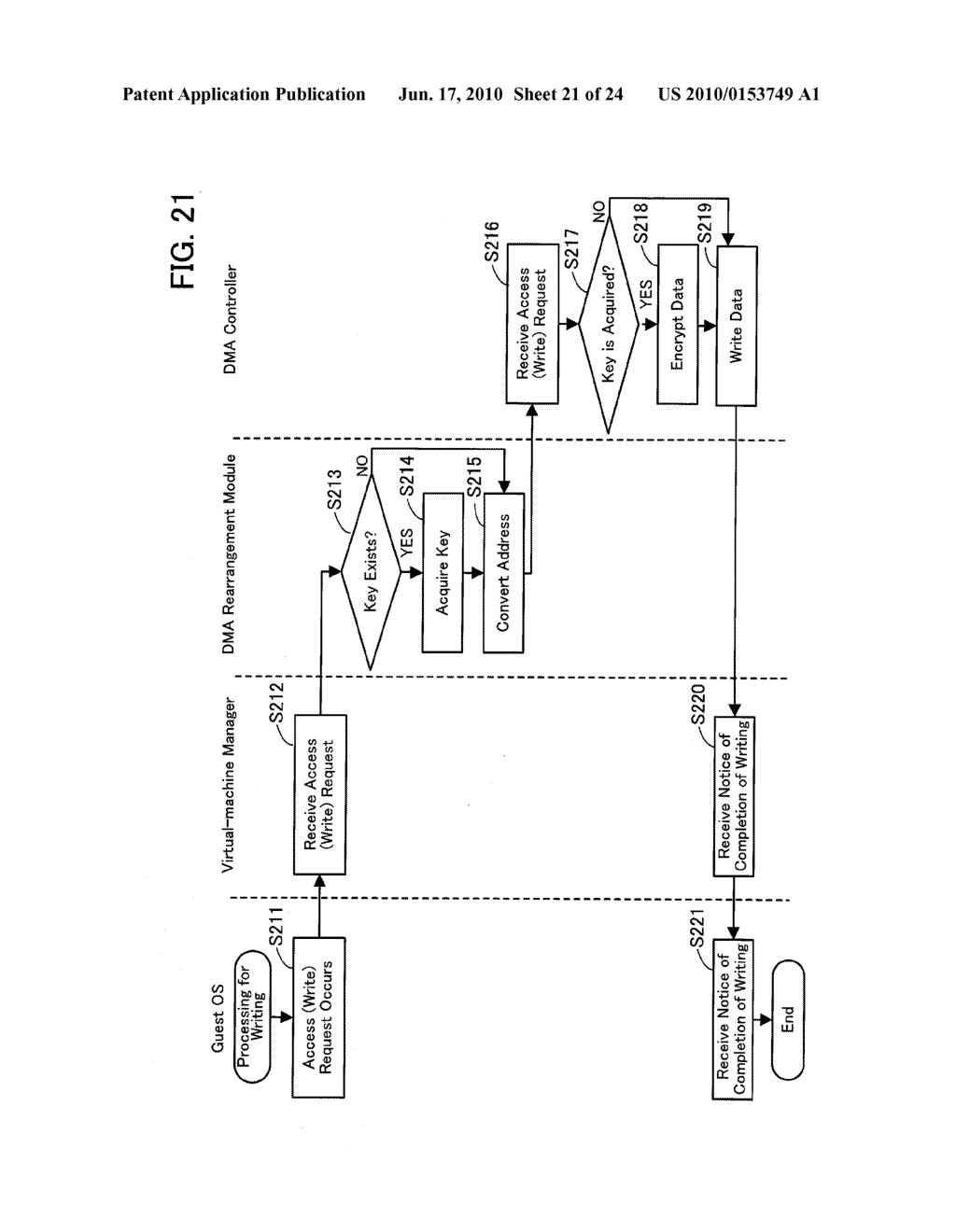 DEVICE-ACCESS CONTROL PROGRAM, DEVICE-ACCESS CONTROL PROCESS, AND INFORMATION PROCESSING APPARATUS FOR CONTROLLING ACCESS TO DEVICE - diagram, schematic, and image 22