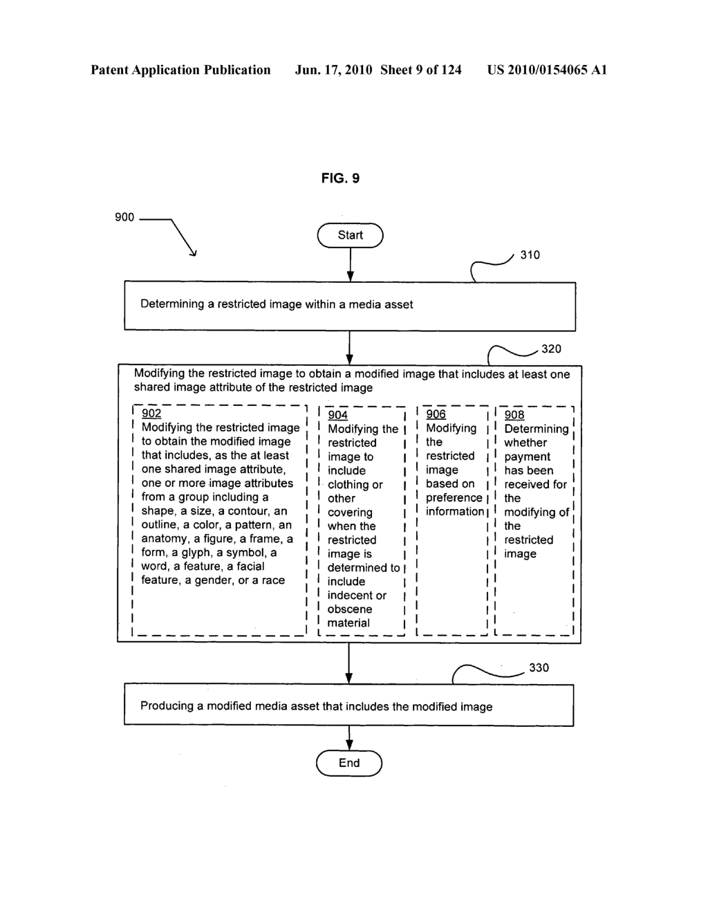 Media markup for user-activated content alteration - diagram, schematic, and image 11