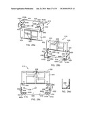 DOWNWARD FACING RECEPTACLE ASSEMBLY FOR CABLE RACEWAY diagram and image