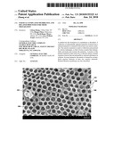 PARTICLE-TEMPLATED MEMBRANES, AND RELATED PROCESSES FOR THEIR PREPARATION diagram and image