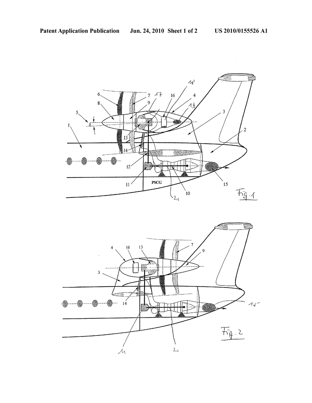 AIRCRAFT WITH TAIL PROPELLER-ENGINE LAYOUT - diagram, schematic, and image  02