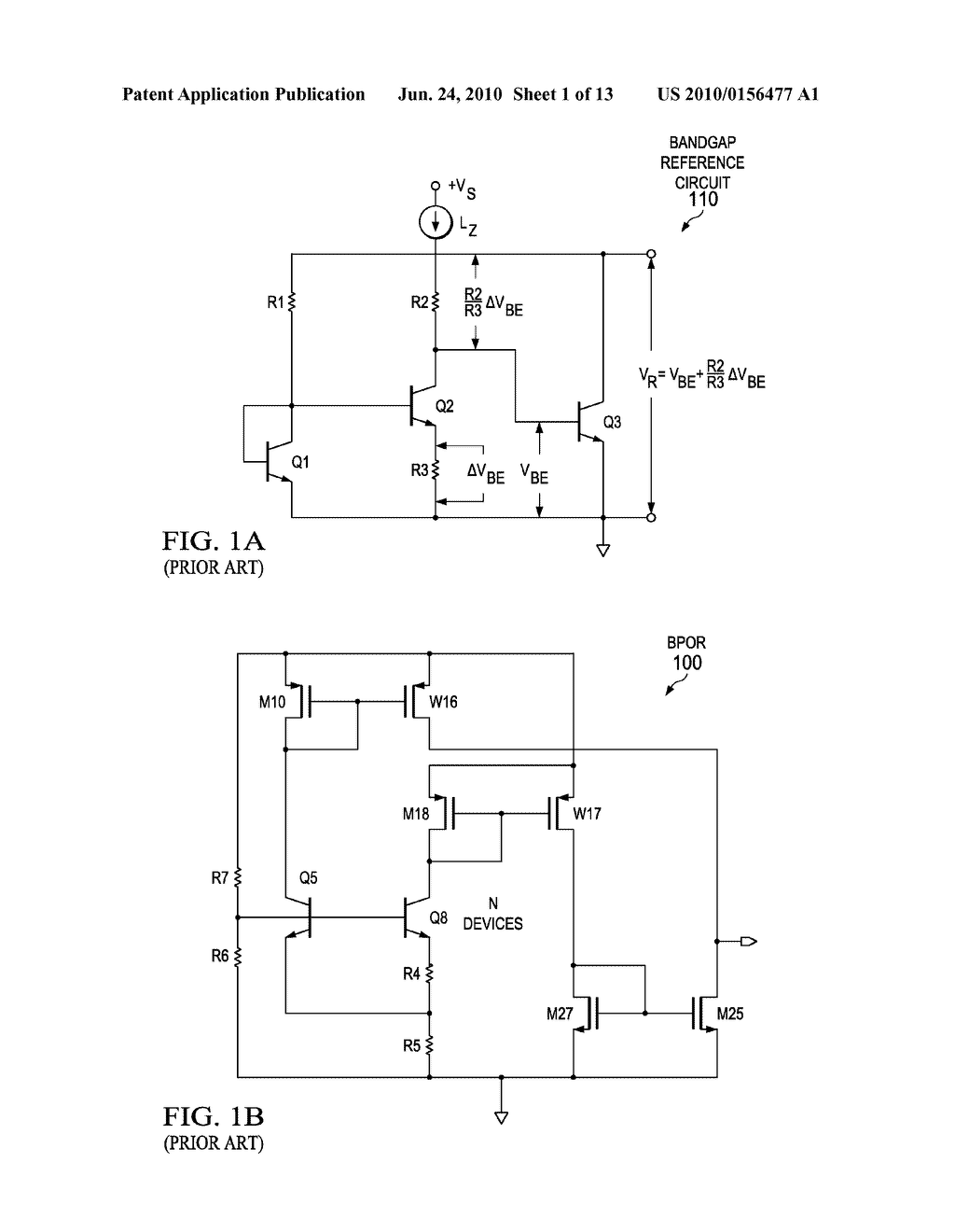 bandgap referenced power on reset por circuit with improved area rh patentsencyclopedia com Push Button Reset Circuit Breaker reset pin circuit diagram
