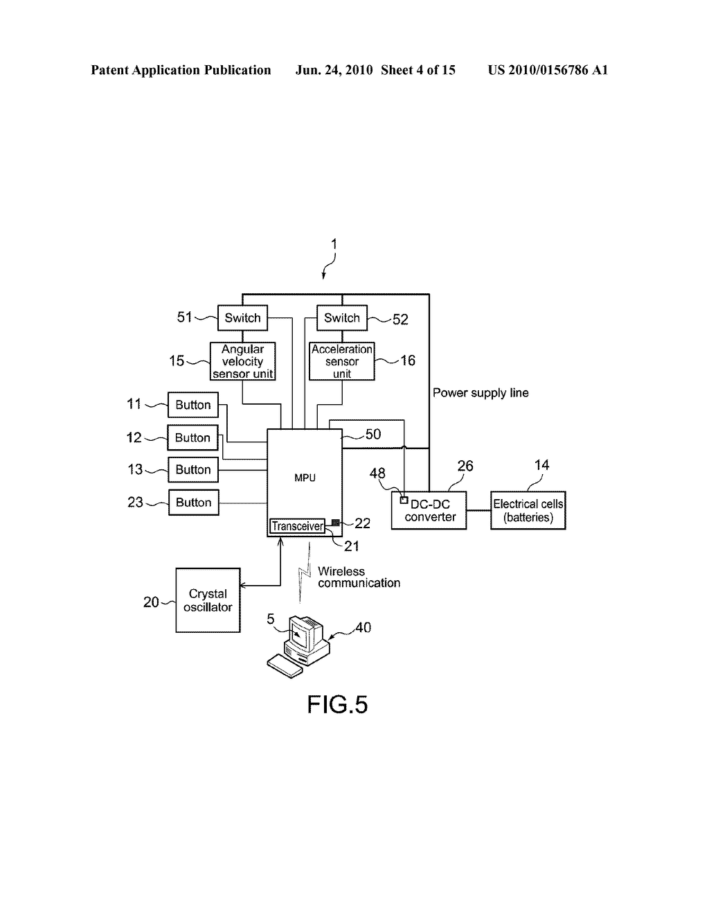 INPUT APPARATUS, CONTROL APPARATUS, AND CONTROL METHOD FOR INPUT APPARATUS - diagram, schematic, and image 05