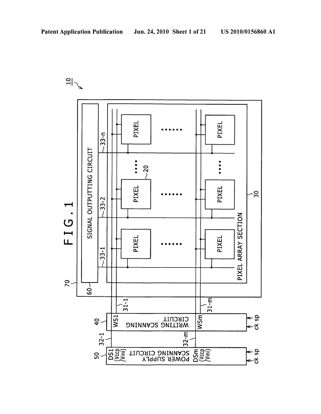 Display apparatus and electronic apparatus - diagram, schematic, and image 02