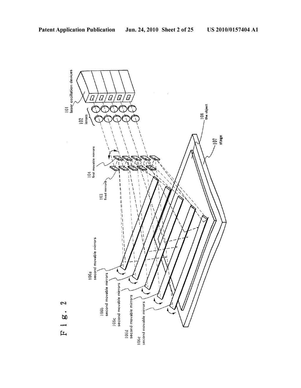 LASER TREATMENT APPARATUS AND METHOD OF MANUFACTURING SEMICONDUCTOR DEVICE - diagram, schematic, and image 03