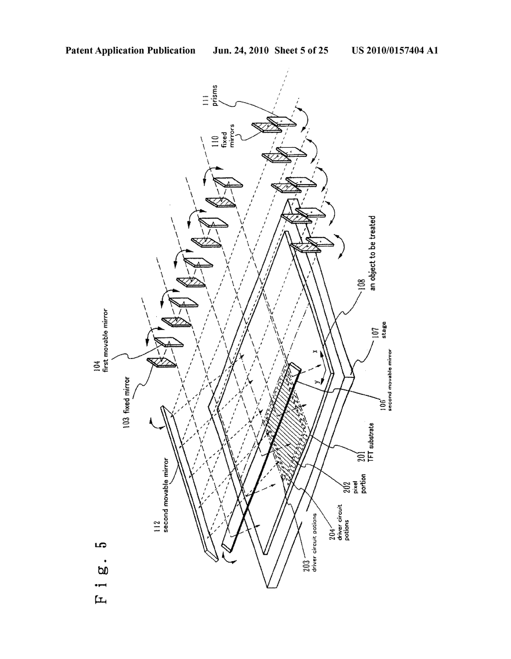 LASER TREATMENT APPARATUS AND METHOD OF MANUFACTURING SEMICONDUCTOR DEVICE - diagram, schematic, and image 06