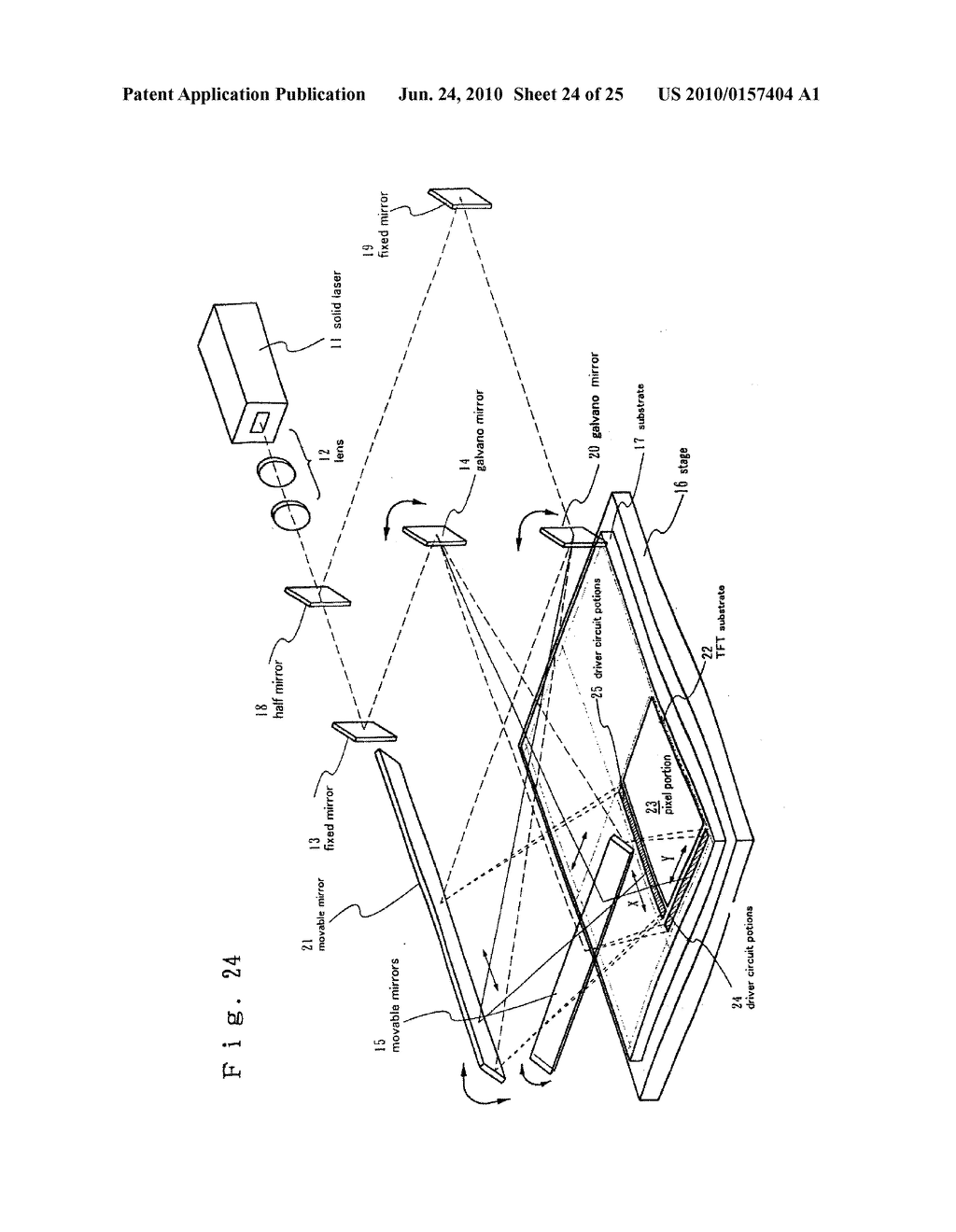 LASER TREATMENT APPARATUS AND METHOD OF MANUFACTURING SEMICONDUCTOR DEVICE - diagram, schematic, and image 25