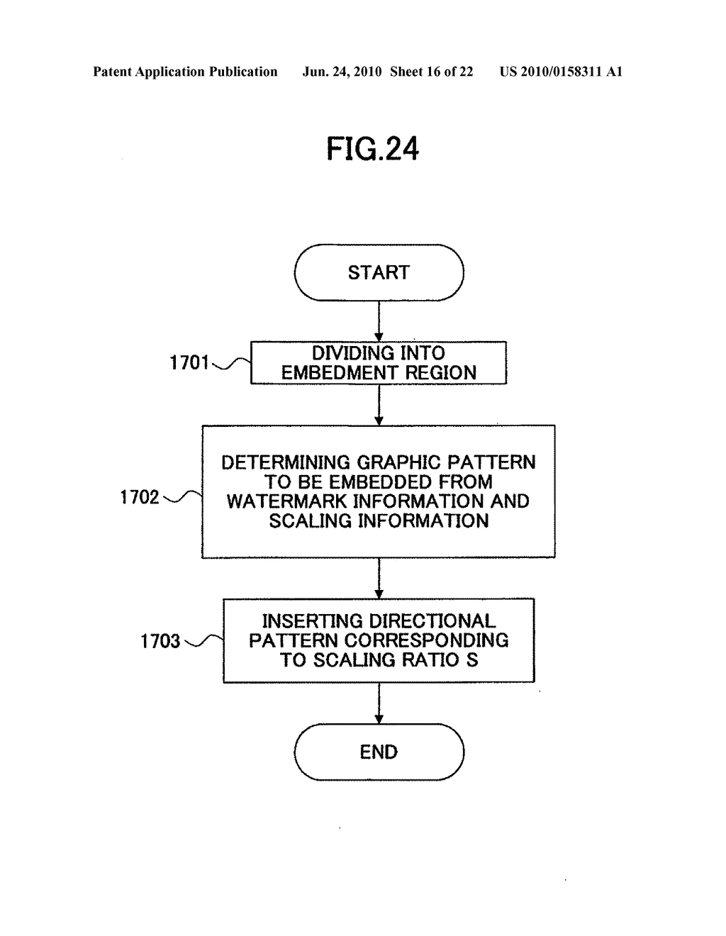 Electronic watermark embedding device, electronic watermark detecting device, and programs therefor - diagram, schematic, and image 17