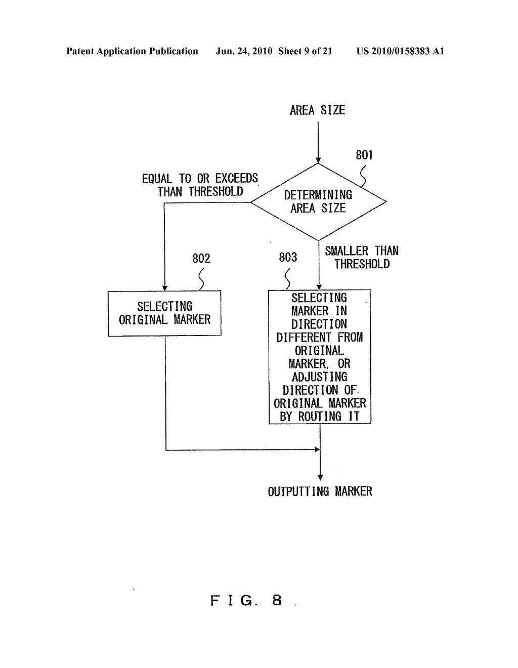 IMAGE MARKER ATTACHING APPARATUS AND METHOD - diagram, schematic, and image 10