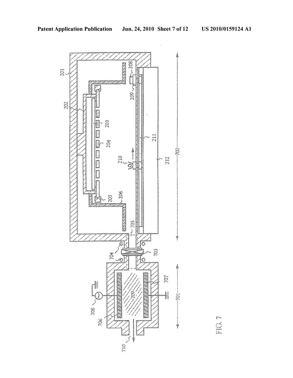 FILM-FORMING APPARATUS, METHOD OF CLEANING THE SAME, AND METHOD OF MANUFACTURING A LIGHT-EMITTING DEVICE - diagram, schematic, and image 08