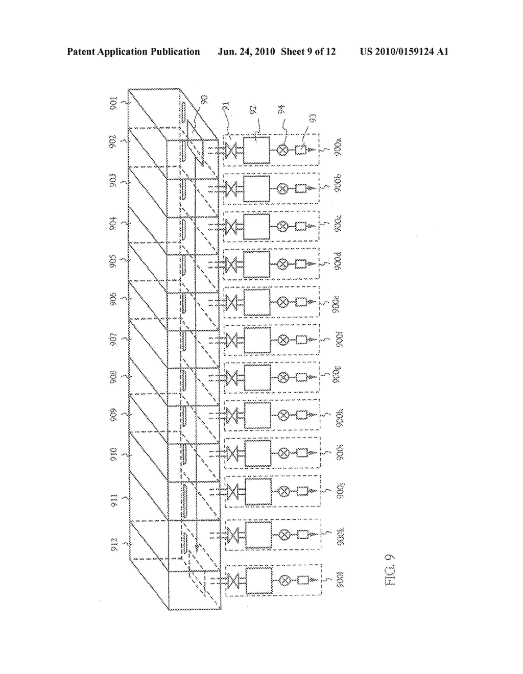 FILM-FORMING APPARATUS, METHOD OF CLEANING THE SAME, AND METHOD OF MANUFACTURING A LIGHT-EMITTING DEVICE - diagram, schematic, and image 10