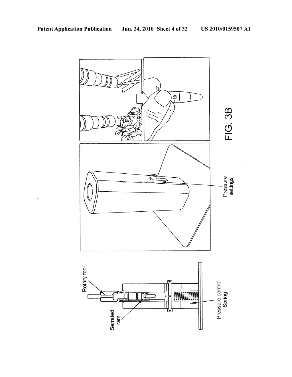 SHREDDER FOR MECHANICAL DISRUPTION BY GENTLE CONTROLLED COMPRESSIVE ROTATION - diagram, schematic, and image 05