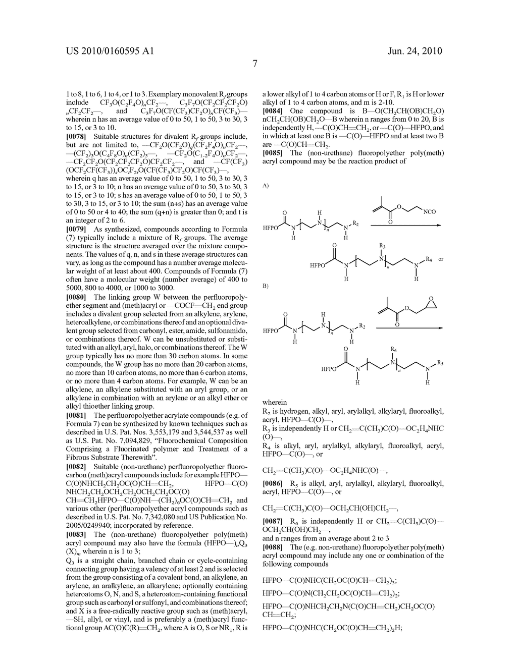 PERFLUOROPOLYETHER URETHANE ADDITIVES HAVING (METH)ACRYL GROUPS AND HARD COATS - diagram, schematic, and image 09