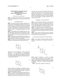 STEREOSPECIFIC METHOD FOR THE PREPARATION OF DIOXA-BICYCLOOCTANE NITRATE COMPOUNDS diagram and image